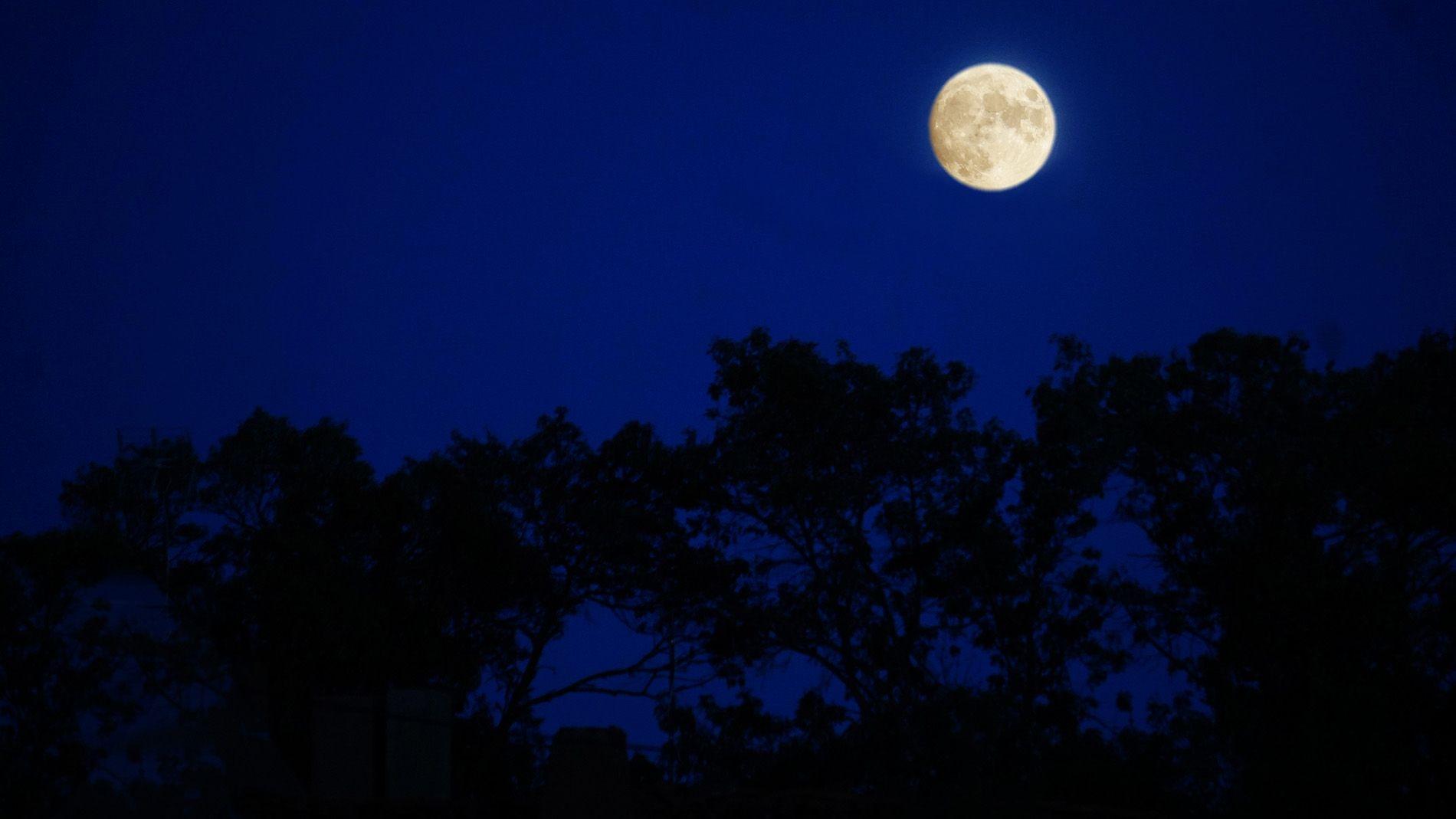 Luna llena Saldaña de Ayllón