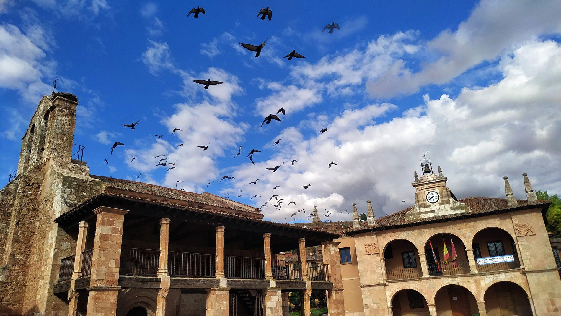 Plaza Mayor Ayllón